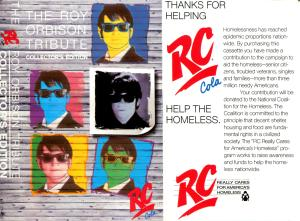 CD.RoyOrbison&RCCola&Homeless